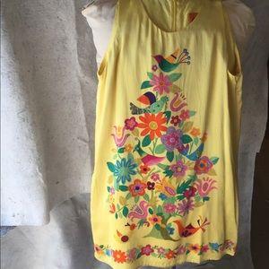 Voom by joy Han 100% silk dress size s
